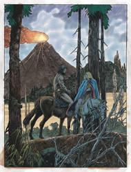 Buscema and Alcala - Conan on horseback