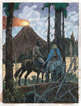 Buscema and Alcala - Conan on horseback by Predabot