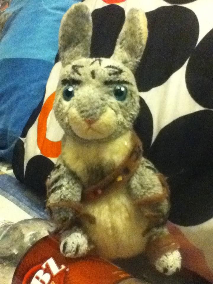Beanie Baby Bunnymund by Nami14