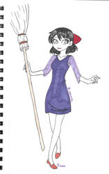 Inktober '20 Day 24- Witch
