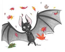 Inktober '20 Day 26- Bat