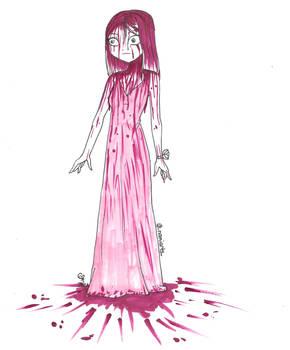 Inktober '21 Day 12- Blood
