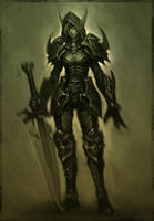 BE Death Knight by slipgatecentral