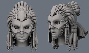 Zem female head WIP