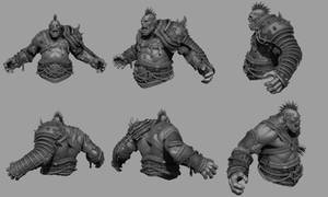 Orc Bust 02