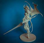 Demon Lancer Chick resin kit