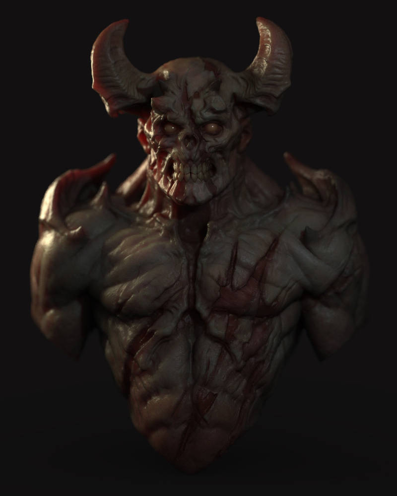 Demon dude quicksculpt by slipgatecentral