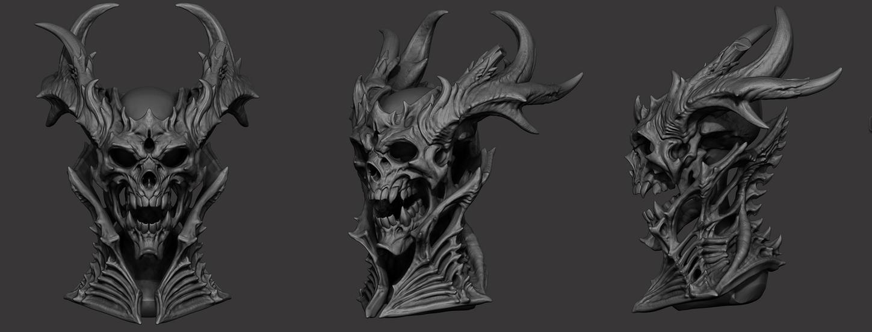 Skull by slipgatecentral