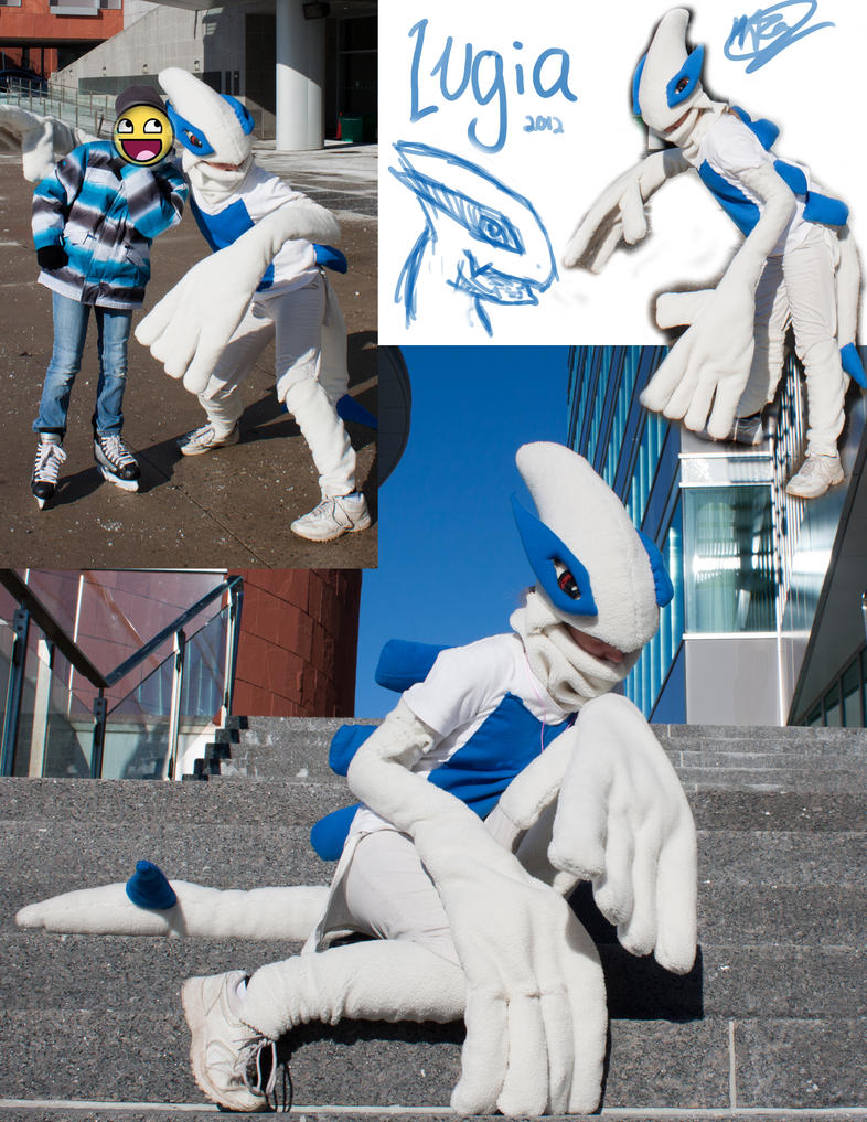 Lugia Cosplay by Swooping-Puma