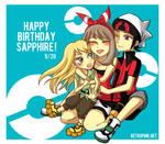 Happy birthday Sapphire !