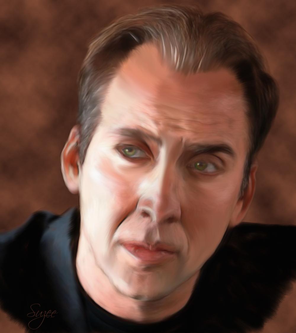 Nicholas Cage by Brekke17