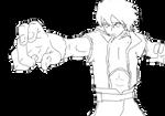 Jin - Fighting Stance