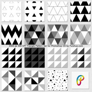 Purshue Triangle Patternset