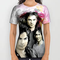 All Over Print Shirt inspired by Vampire Diaries by Purshue