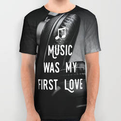 Music was my first Love,