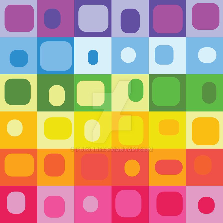 Colorsplash Poster Pattern Design by Purshue