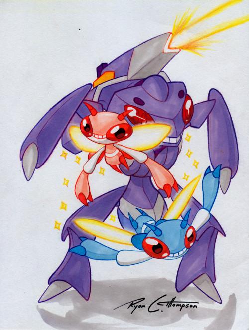 Pokemon Mega Genesect Card Images   Pokemon Images