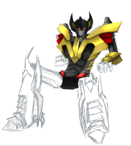 WIP: Prime Sunstreaker by Zaquinni on DeviantArt