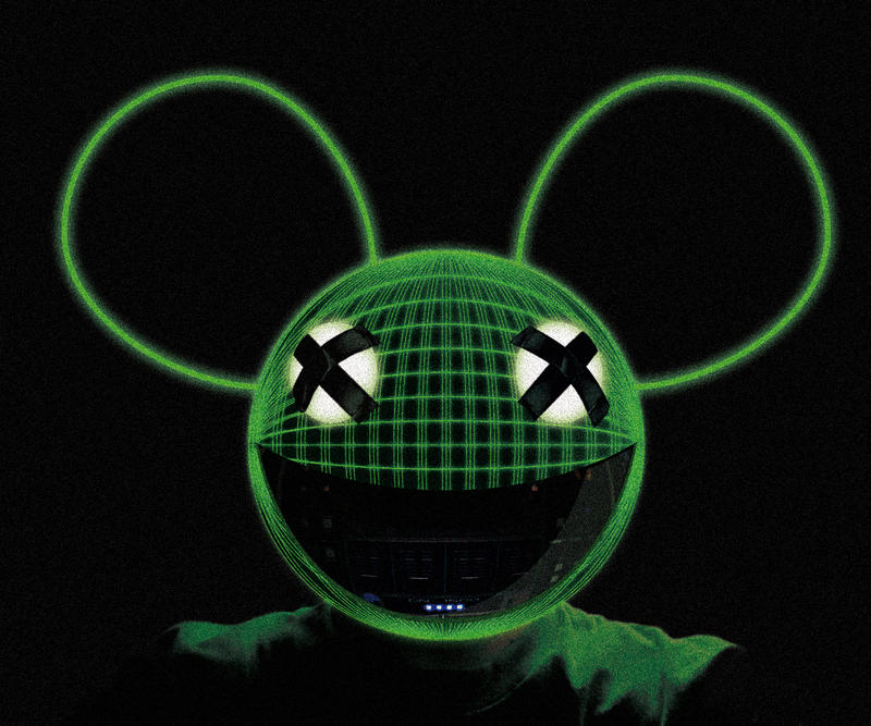 Deadmau5 - neon by Taserhead