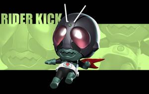 Cutie Rider Kick