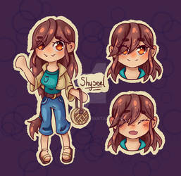 Emilie: Chibi character sheet comission
