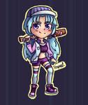 Baseball girl redesign