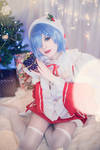 MetalcookieCosplay RE:Zero Christmas Rem Cosplay