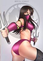 Mileena  - Mortal Kombat by StefanConstantinArt