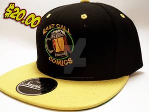 Yellow and  Black Last Call Comics Snapback Cap
