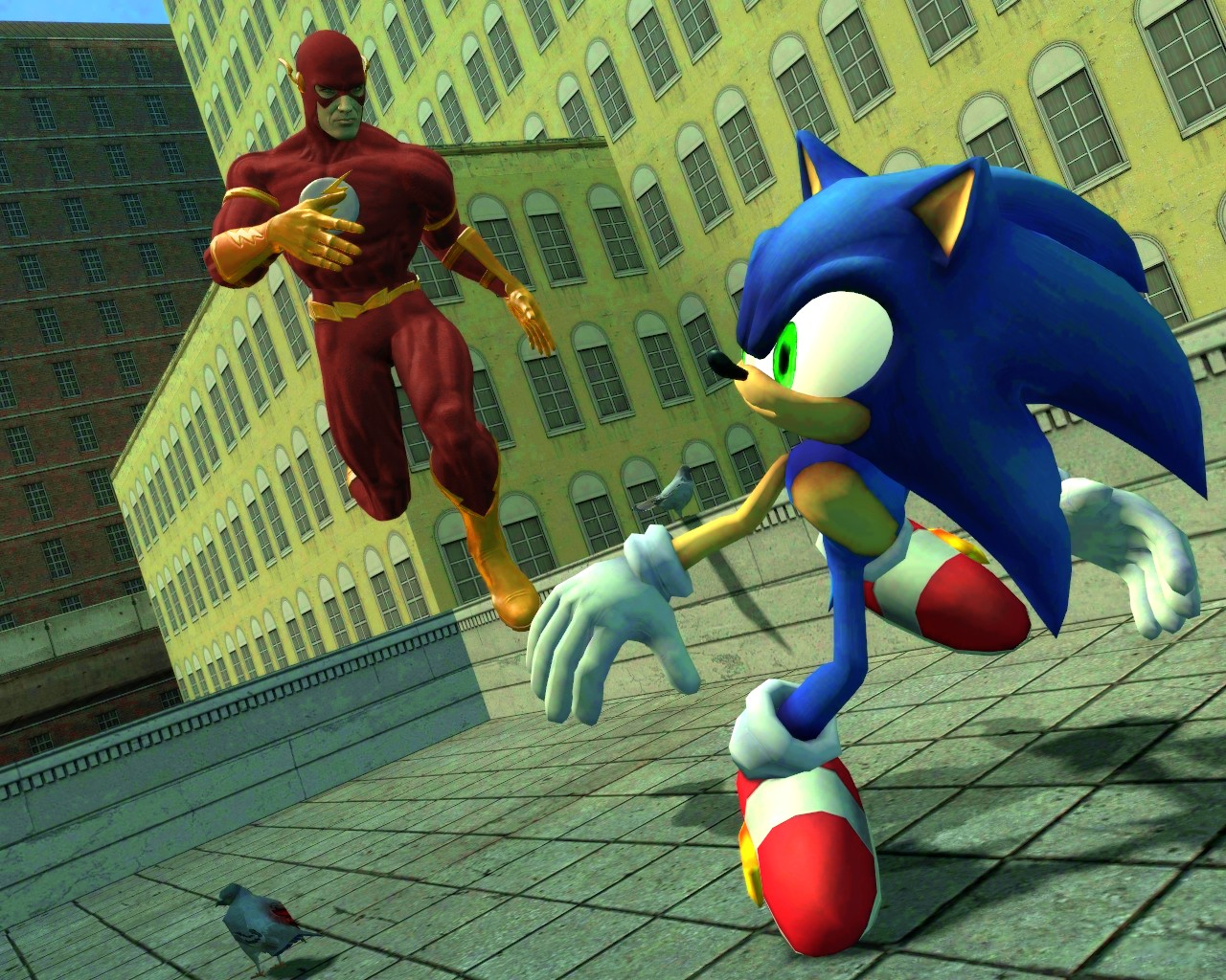 flash vs sonic - photo #37