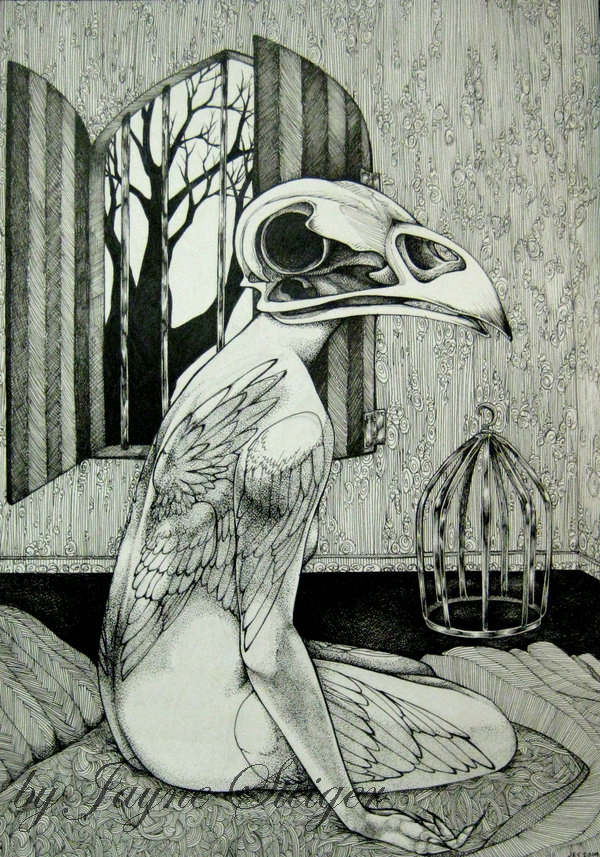 Birdcage by raevynewings