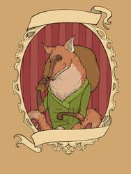 Fantastic Mr. Fox by raevynewings