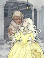Princess Deerskin 2 by raevynewings