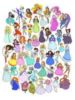 50 Princesses