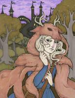 Princess Deerskin 4 by raevynewings