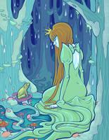 The Frog Princess by raevynewings