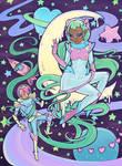Galactic Space Princess Rapunzel