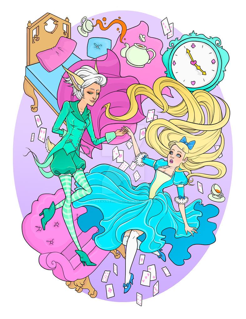 Wonderland by raevynewings