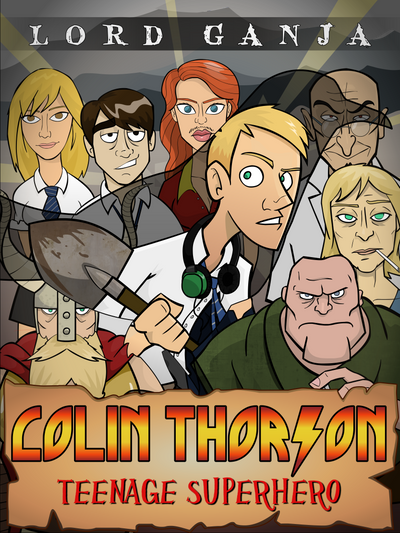 Colin Thorson Cover by WesleyRiot