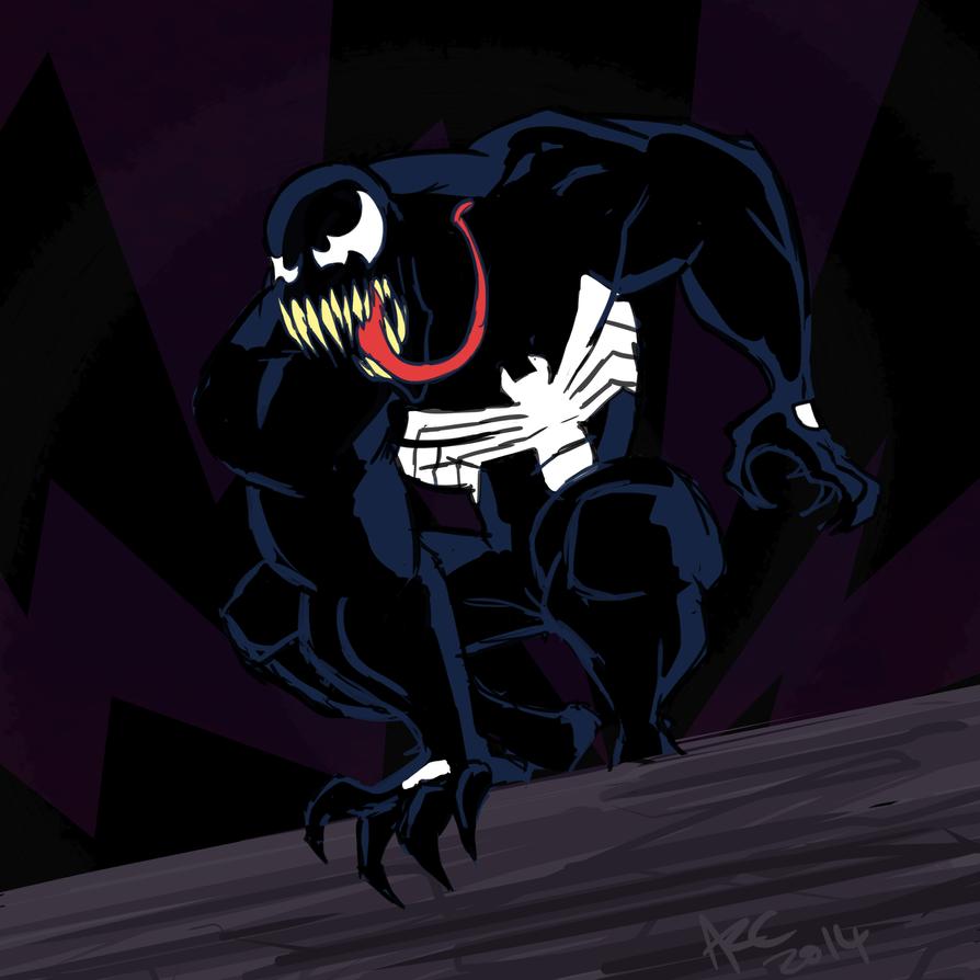 Venom sketch by WesleyRiot