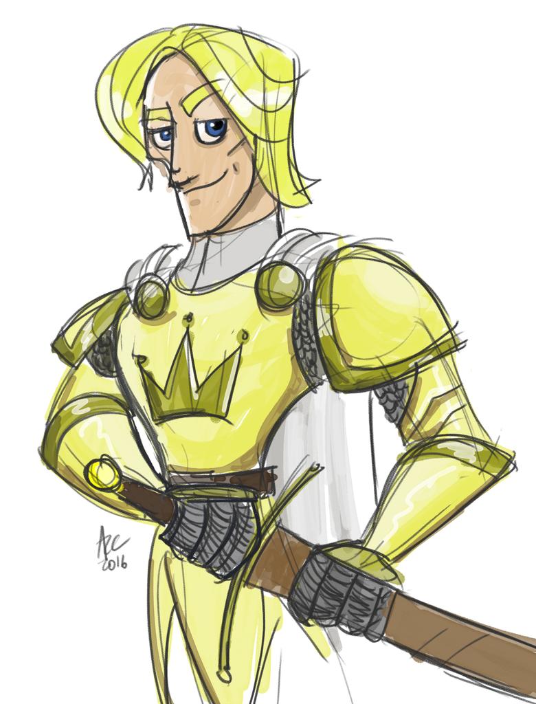 Kingslayer Sketch by WesleyRiot