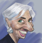 Christine Lagarde by WesleyRiot
