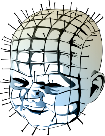 Unfinished hellraiser baby by socketto