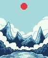 Mountains01 - (F2U) by AkumiIrako