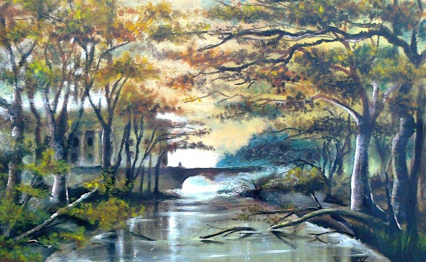 Autumn Bridge by TeleGabor