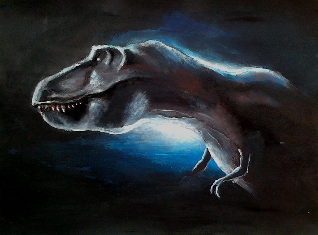 Tyrannosaurus by TeleGabor