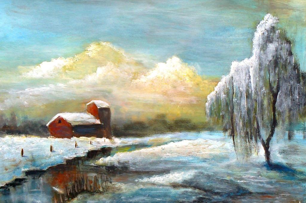 Winter landscape by TeleGabor
