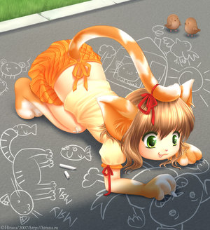 Chalks by catgirl-zone