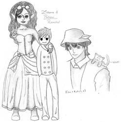 Litheria and Patches, and Ian