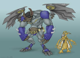 Wingnut and Screwloose by Owl-Robot